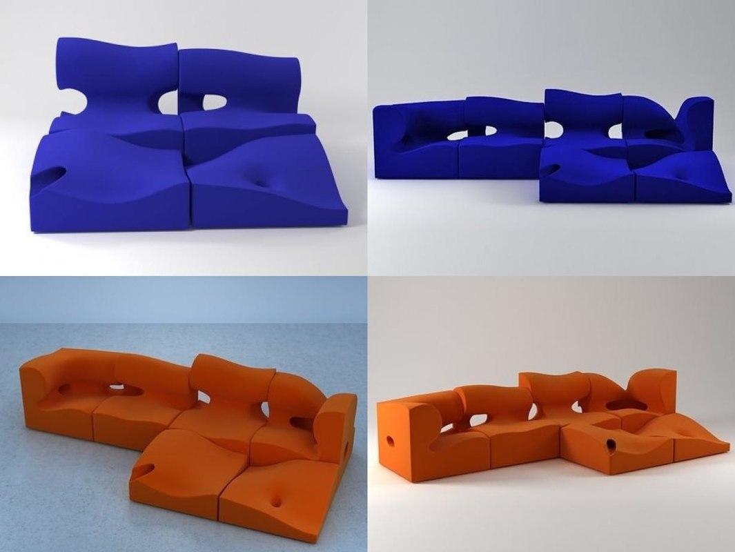 3D misfits moroso model