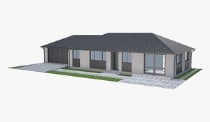 3D house family