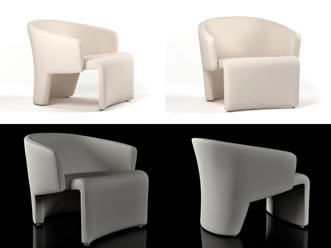 marc armchair 3D model
