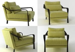 3D cityloft armchair