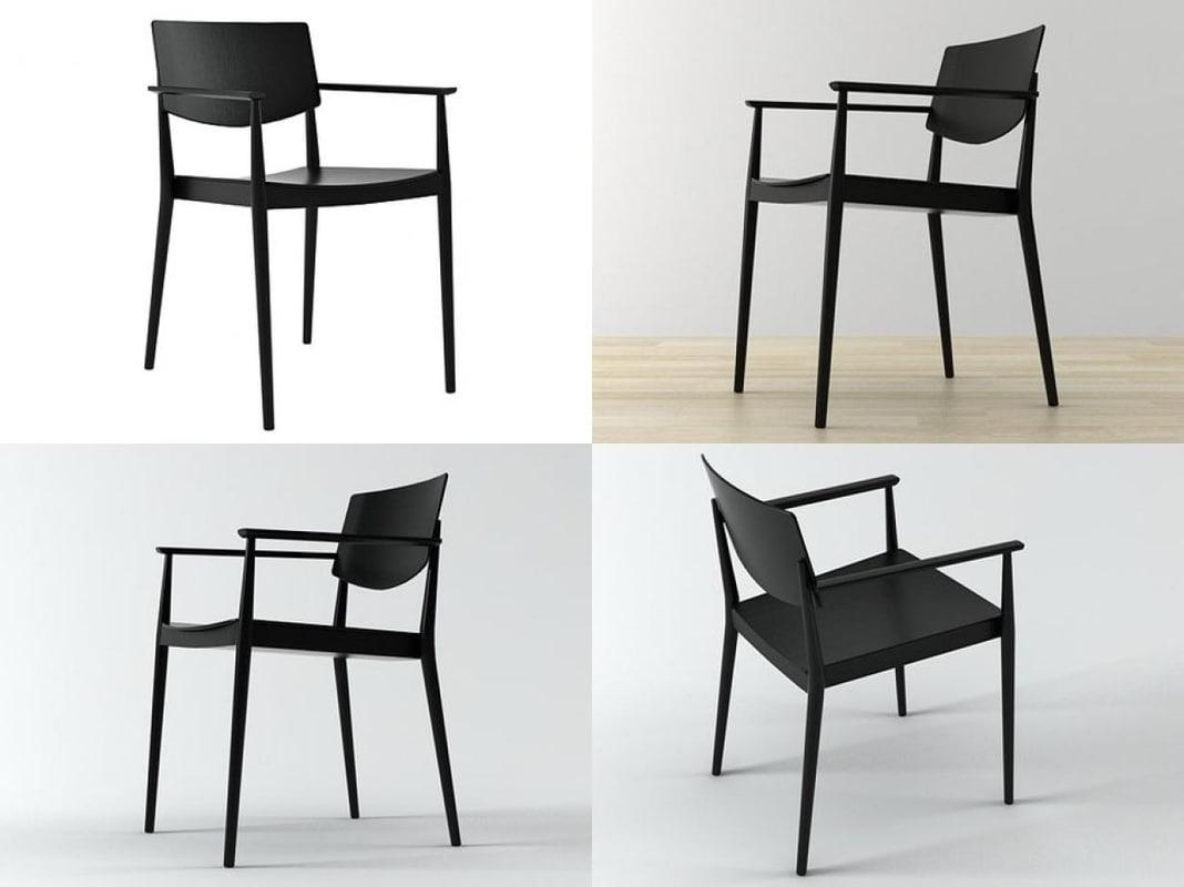 happy armchair 3D