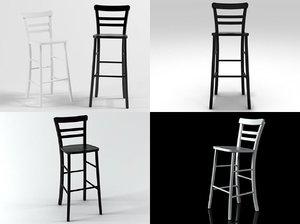 3D violinist stools l t
