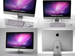 3D imac apple model
