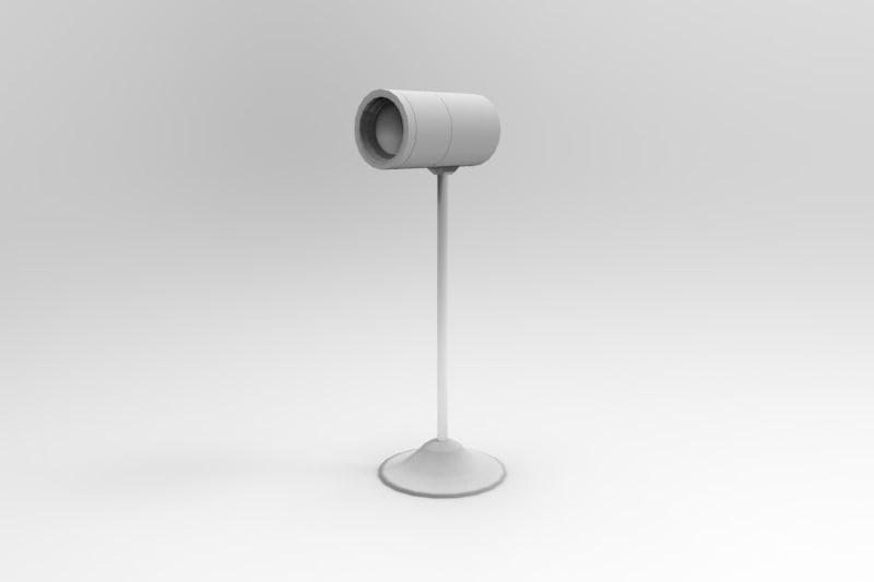 3D desk camera