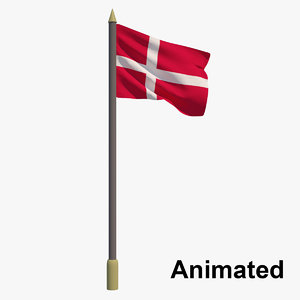 3D flag - animation