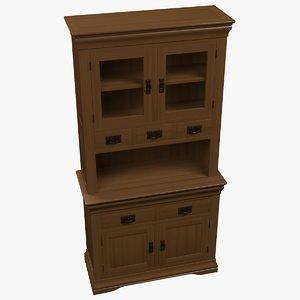 shelf drawers model