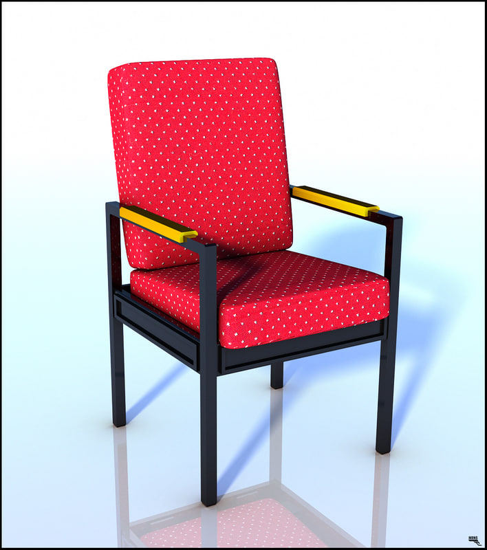 armchairs lounge-chairs 3D