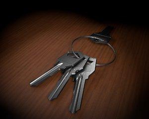 3D keys model