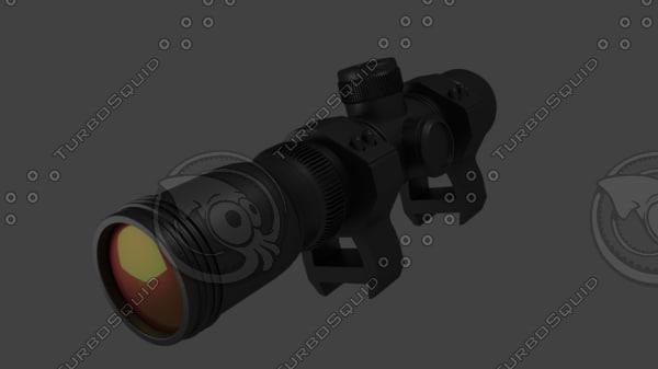 3D x20 zoom realistic