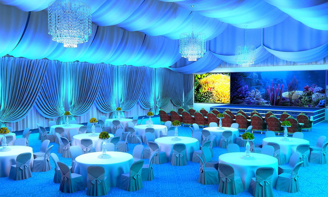 tent arabic 3D model