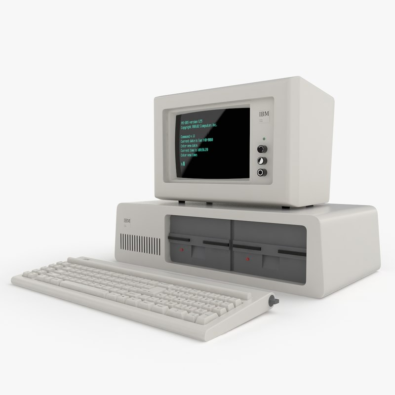 retro computer model