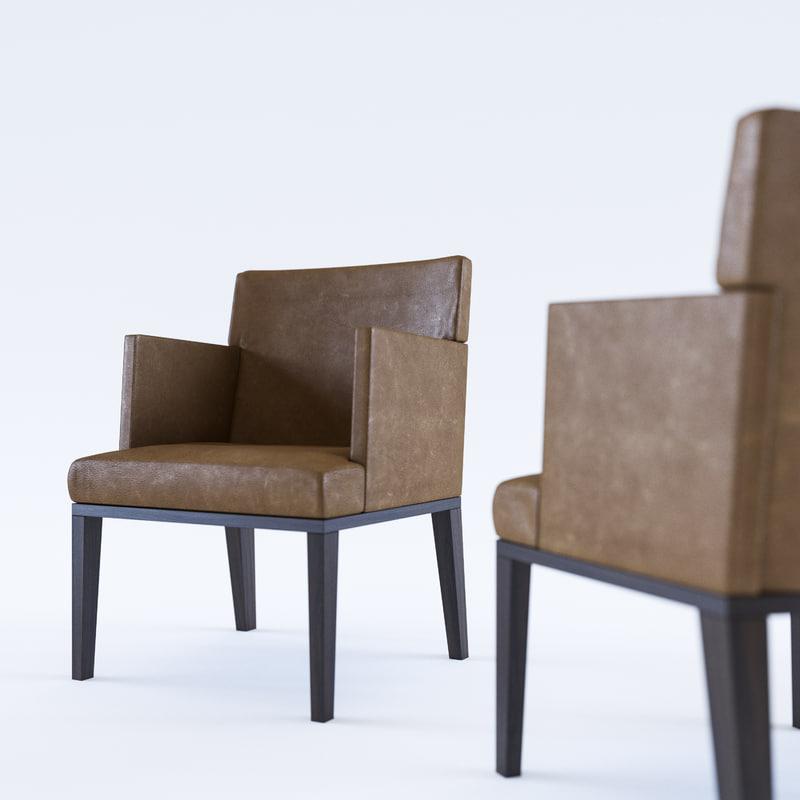 christian toribio chair - 3D model