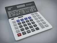 3D calculator digital