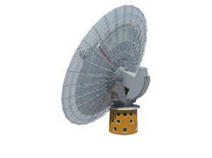 parkes observatory radio telescope 3D model