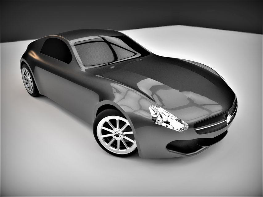 mercedes-amg gt 3D model