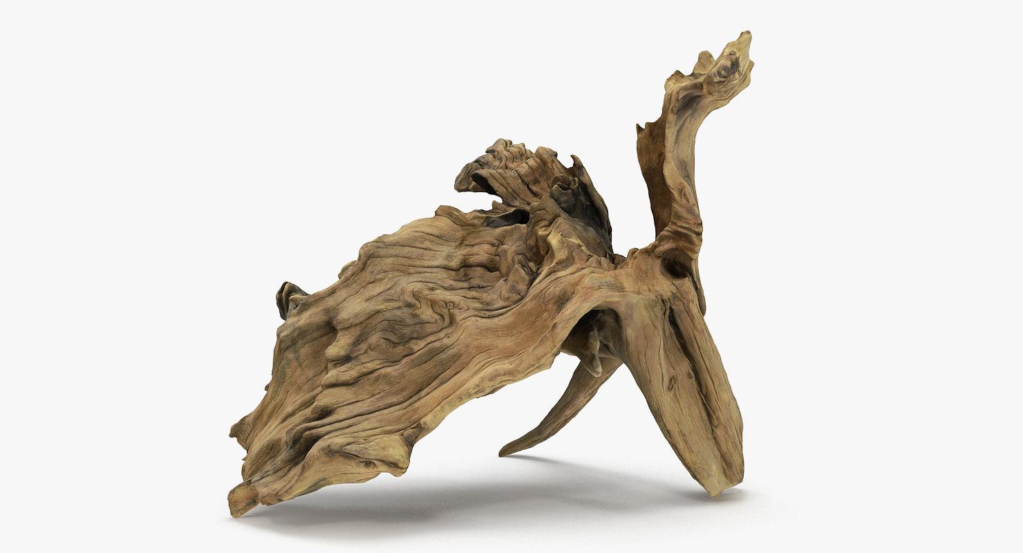 3D bogwood bog wood
