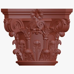 column capitel 2 3D model