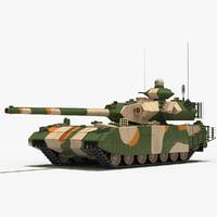 t-100 object-189 tank model