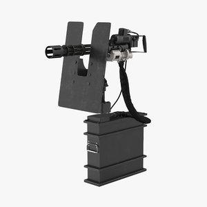 minigun m134 clean model