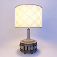 3D metal table lamp lights