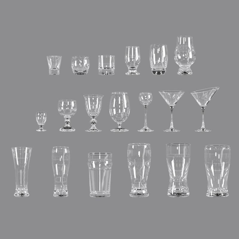 3D set glasses