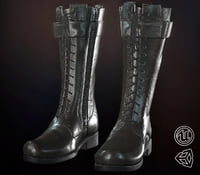 Leather Boot (Black)