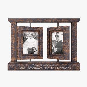 3D model photo frame db003084