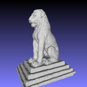 3D lion amphipolis