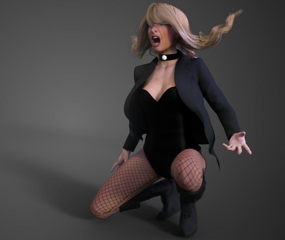 black canary classic model