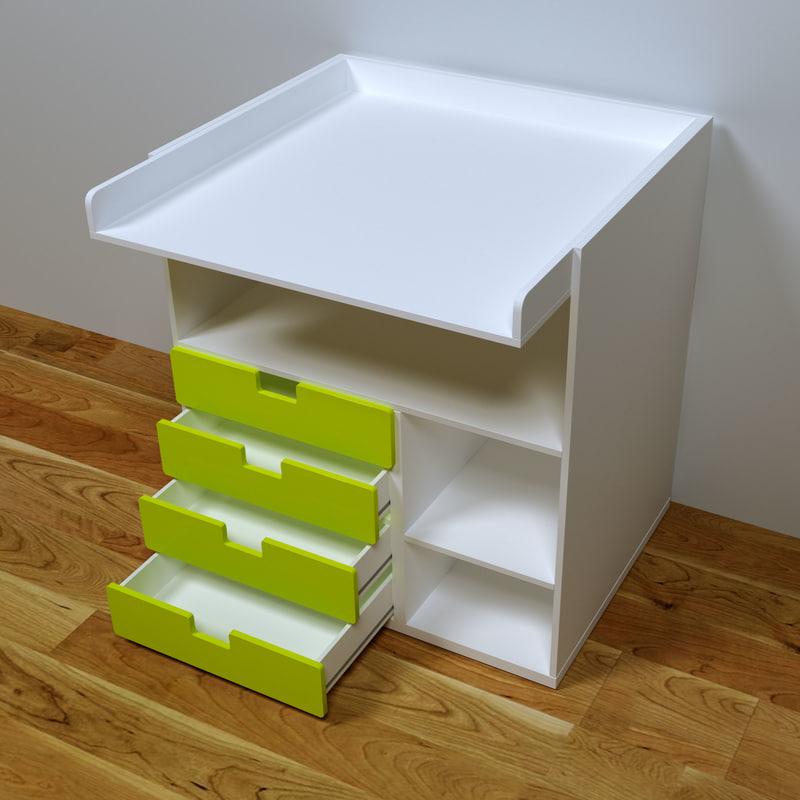 3D ikea table desk model