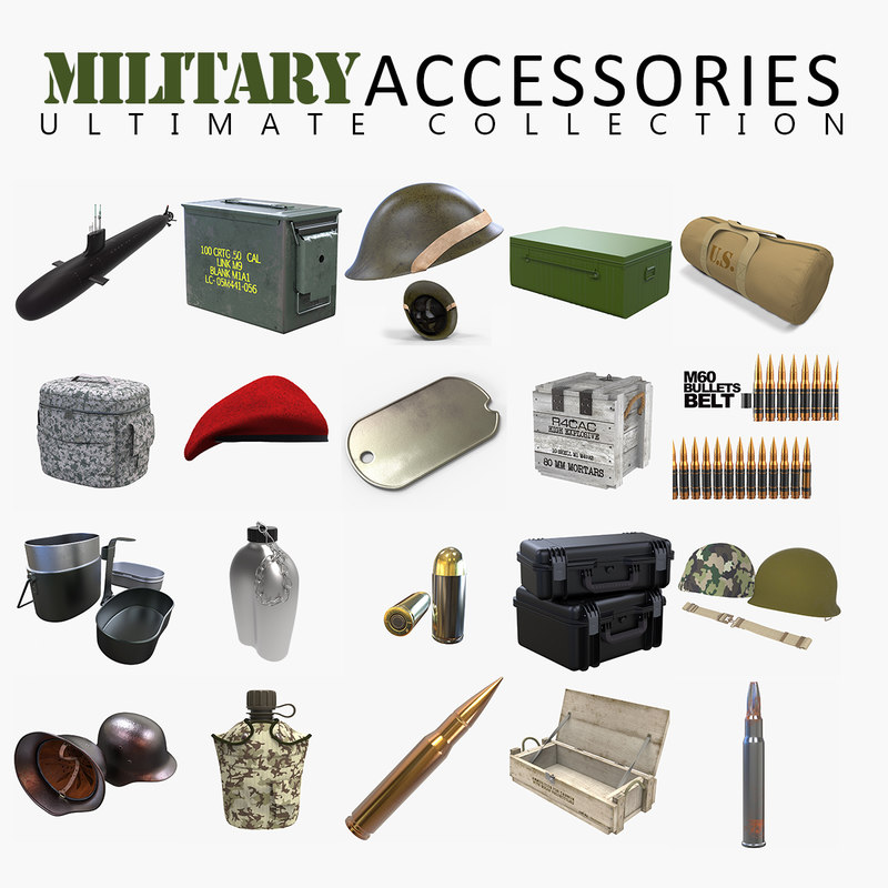 3D military accessories