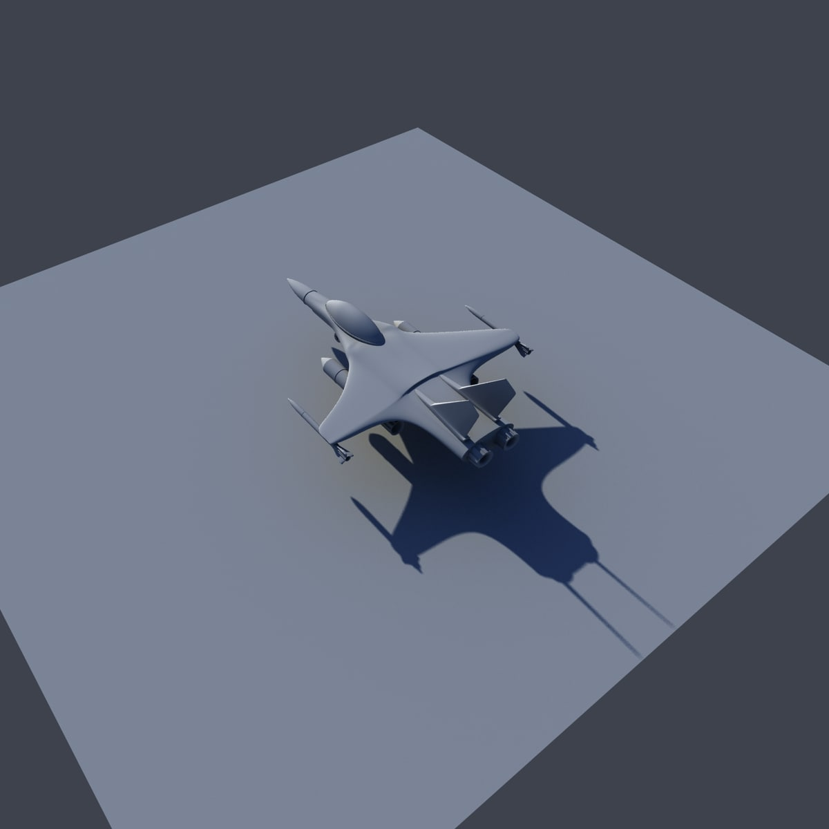 f16 3D model