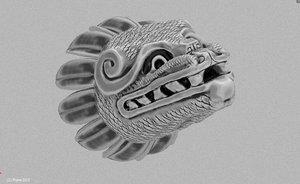quetzalcoatl 3D model