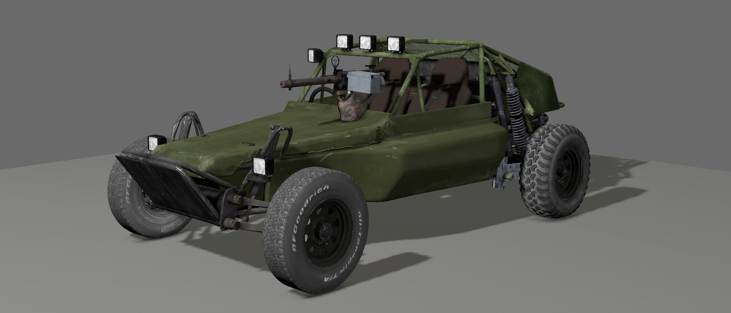 Dune Buggy - Rigged