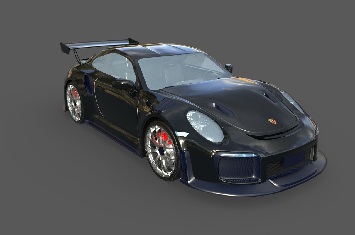 Real Time 911 >> 3d Real Time 2018 Porsche 911 Turbosquid 1189823