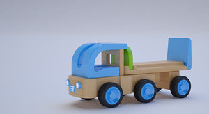 3D colors car toy