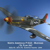 North American P-51D - Ol Flak Joe