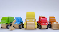 colors toy street vehicles 3D model