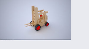 3D learning toy wooden