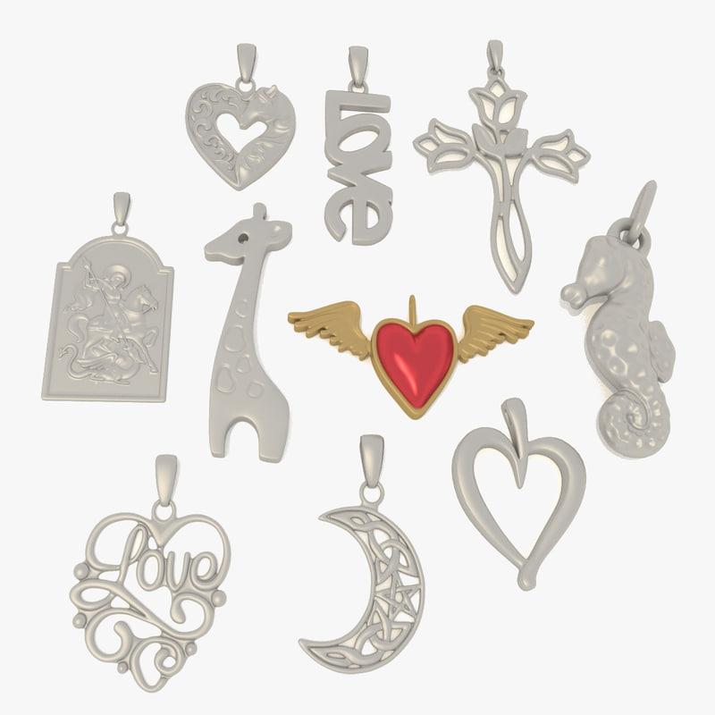 3D jewelry jewel