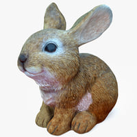 rabbit ornament 3D