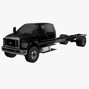 3D f-650 crew cab model