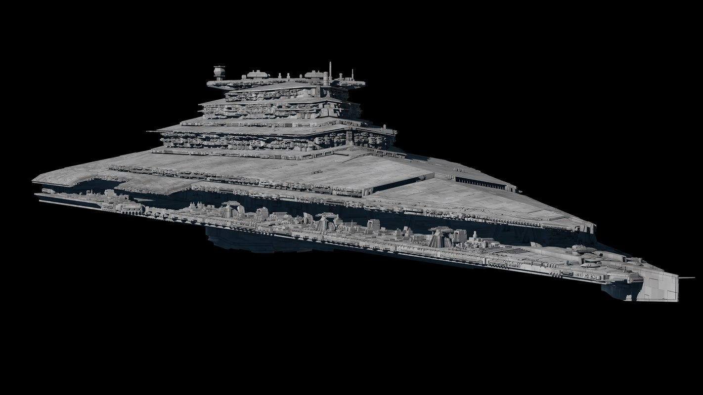 3D star destroyer order model