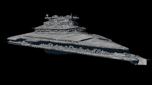 3D star destroyer order model
