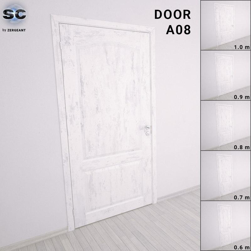 door details handle 3D model