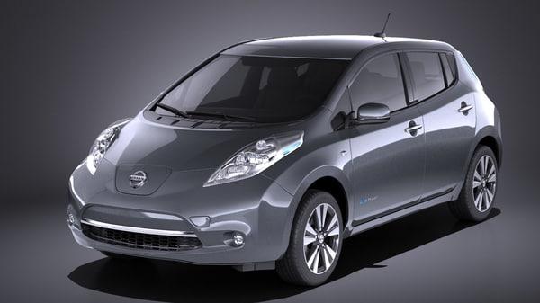 2016 nissan leaf model