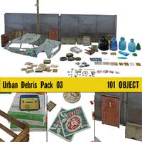 Urban Debris Pack 02