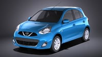Nissan Micra 2016 VRAY