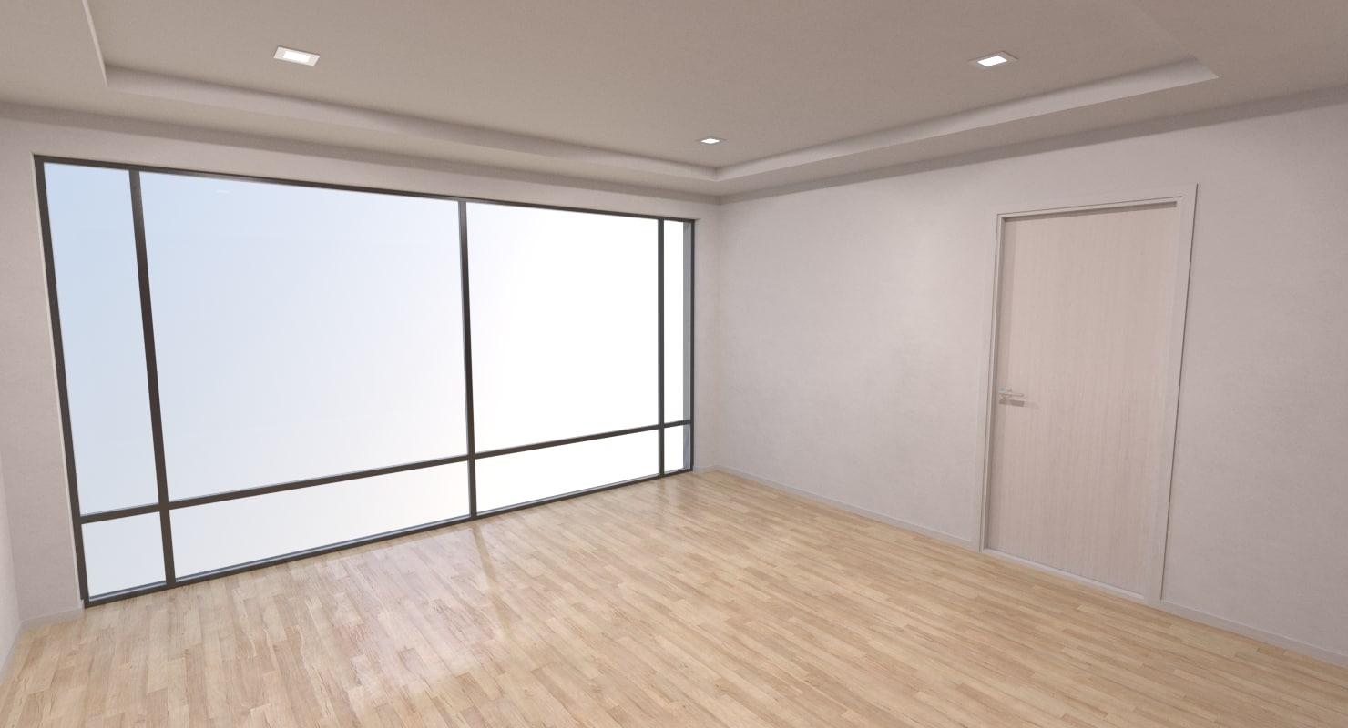 base bedroom interior 1 model