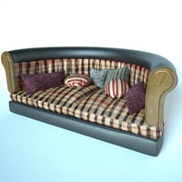sofa soft leather 3D